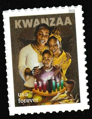 US 5337 Kwanzaa forever single (1 stamp) MNH 2018