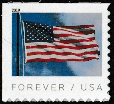 US 5344 Flag forever single APU (1 stamp from booklet of 20) MNH 2019