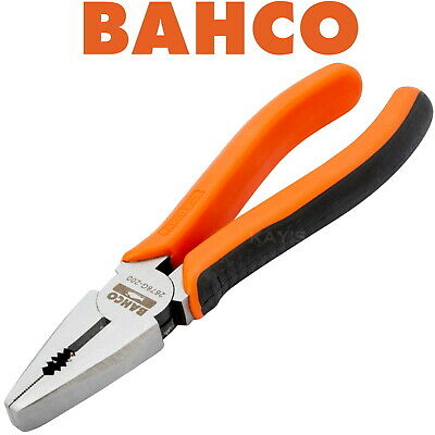 "BAHCO S-LINE 200mm (8"") FORGED COMBINATION SIDE CUTTER /CUTTING PLIER, 2678G-200"