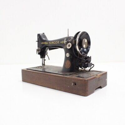 Antique Singer  I.M. Singer & Co Sewing Machine 15K #124