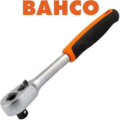 "Bahco 3/8"" Ratchet Quick Release Square Drive Reversible 60 Teeth Professional"