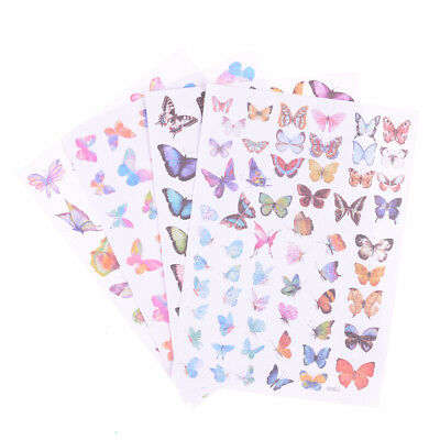 Fairy Butterfly Diary Scrapbook Decoration DIY Stickers Toys School Supply HU