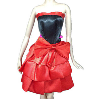 Beautiful Handmade Party Clothes Fashion Dress For  Doll Best Gift Toys HU