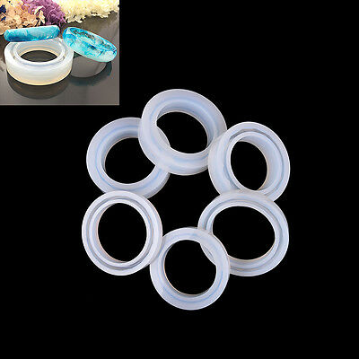 Silicone Mold Casting Mould For Resin Bangle Bracelet Jewelry Making DIY Tool HF