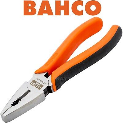 "BAHCO S-LINE 180mm (7"") FORGED COMBINATION SIDE CUTTING CUTTER PLIERS, 2678G-180"