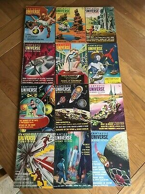 Fantastic Universe US 1950's - 12 issues - WILL SPLIT - See my other SF listings