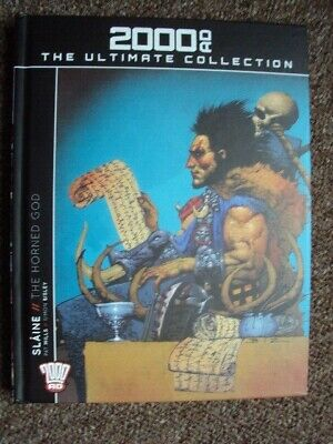 2000 AD The Ultimate Collection SLAINE The Horned God - Pat Mills & Simon Bisley