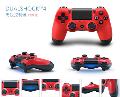 PS4 DualShock 4 Controller Magma Red V2  BRAND NEW SEALED OFFICIAL UK STOCK