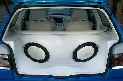 VW Golf 3 III Audio Box / Kofferraumausbau / Soundbox / Soundboard