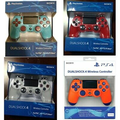 Official Sony Ps4 Dualshock 4 Wireless Controller - New & Sealed Four Colors