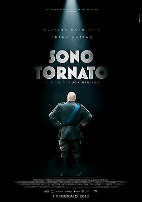 """Sono Tornato 2018 Italy sealed DVD English subtitles """"Mussolini is back comedy"""""""