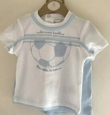 Boys shorts and top set by Mintini New For SS'19