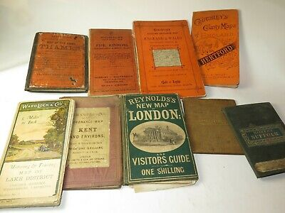 ANTIQUE MAPS and GUIDES. Selection Please Choose