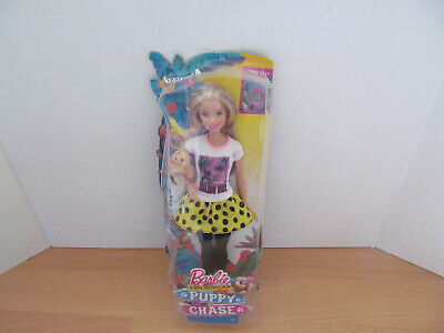Barbie & Her Sisters In A Puppy Chase Doll Age 3+ New