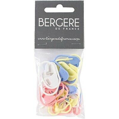 Bergere De France Locking Stitch Markers 28/pkg-