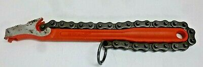 """NEW!! Rothenberger 70235 12"""" Chain Pipe Wrench with 1/8"""" to 4"""" Pipe Capacity"""