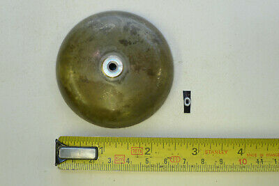 "o) 2 5/8"" (66mm) Antique CLOCK BELL mantel/silk suspension/skeleton/wall/bracket"