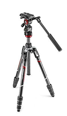 Manfrotto Befree Live Carbon Fiber Tripod Twist with Video Head