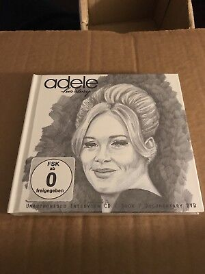 Adele - Her Story  - CD & Book - New & Factory Sealed