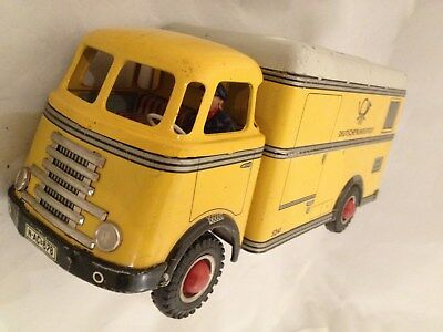 Arnold LKW  Deutsche Bundespost Post Postauto  Blechauto