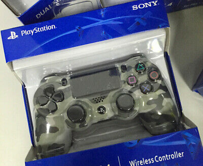 SONY PS4 DUALSHOCK 4 WIRELESS CONTROLLER - NEW & SEALED Grey Camo UK Free