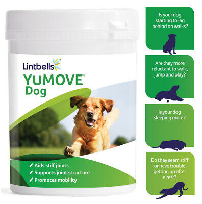 Lintbells YuMOVE Dog Supplement for Stiff and Older Dogs 60/120/300 Tablets