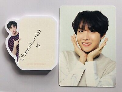 BTS Love Yourself Tour Japan Photocard Official Merchandise Jhope