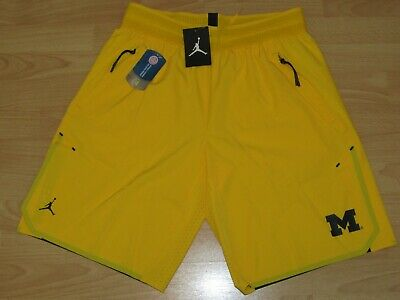 a47e530c923 Jordan Michigan Wolverines Tech Flex SE Basketball Shorts size Men's Large