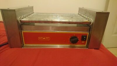 Grill 7 rouleaux electro broche