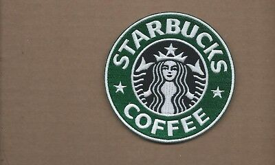 New 4 Inch Starbucks Coffee Iron On Patch Free Shipping
