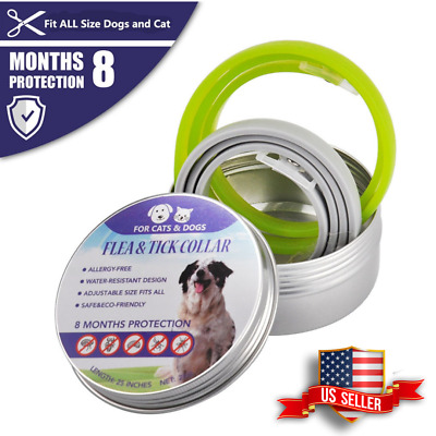 2pcs bayer seresto 8 Month Protective Flea and Tick Collar for Large Dog And Cat