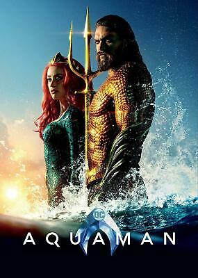 Aquaman (2019,New,Dvd,Release) Super,Waterful,Action,Free Shipping...
