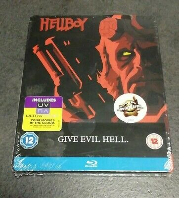 HELLBOY : STEELBOOK BLU-RAY NUOVO OVP [Collector - G2 - SOLD OUT]