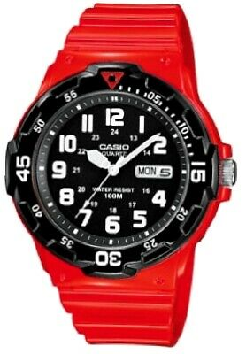 1790d8788e9e CASIO DIVING RED   BLACK expedition watch watch timex sport diving ...