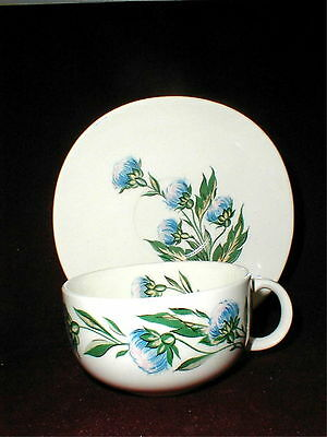 Crooksville China Iva-Lure CELESTIAL Clover Saucer/s Only - NO CUP