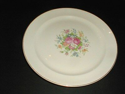 Taylor Smith Taylor #1821 Floral Center Dinner Plate/s (loc-X21)