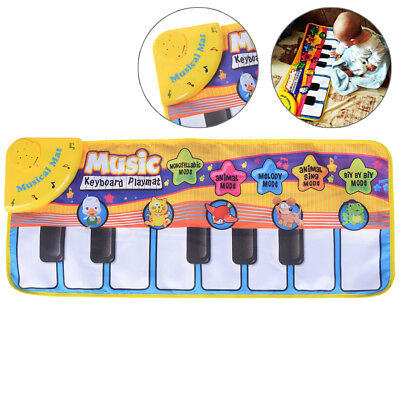 Kids musical toy music piano play mat baby development educational toys gift HF