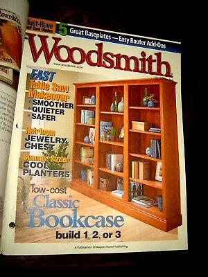 Woodsmith Woodworking Magazine Vol 27 / no 159 - July 2005