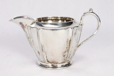 Vintage Walker & Hall EPNS Silver Art Nouveau Small Pretty Cream Milk Jug