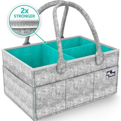 Baby Diaper Caddy Organizer - Portable Large diaper caddy tote - Car Travel...