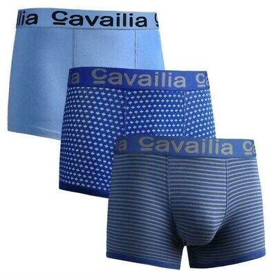 Brand New 3 Pairs cavailia mens boxers - Size Small