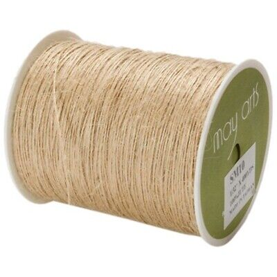 May Arts Burlap String 1mmx400yd-natural