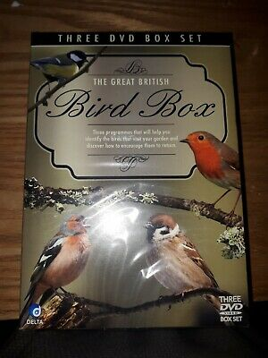 The Great British Bird Box (DVD, 3-Disc Set, Box Set) REGION 0 - NEW / SEALED!!!