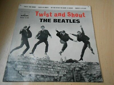 The Beatles, Ep, Twist And Shout + 3, Spanish Edit.1963