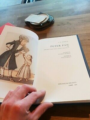 PETER PAN by J. M. BARRIE - THE FOLIO SOCIETY - H/B S/C - 1992 - £3.25 UK POST