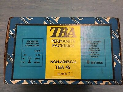 TBA Permanite Packing 12.5mm Non- Asbestos 8 Metres Absolute Bargain