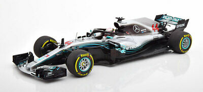 1:18 Minichamps Mercedes W09 EQ Power F1 World Champion Hamilton 2018