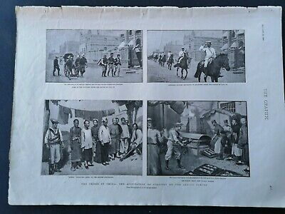 1900...Zeitungsdruck 2 /  Tianjin China Tientsin
