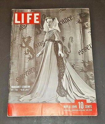 May 6, 1946 LIFE Magazine Old 40s  advertising ad + FREE SHIPPING 5 7 8 9 4