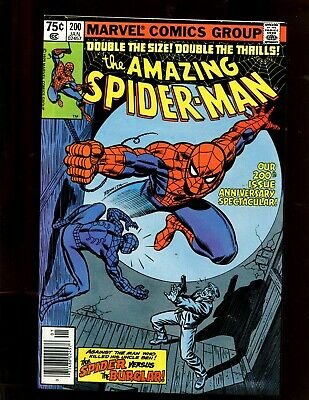 The Amazing Spider-Man #200 (9.2) The Spider And The Burglar! 1979
